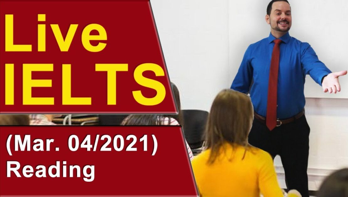 IELTS Live - Reading Section - Tips for Band 9 Answers