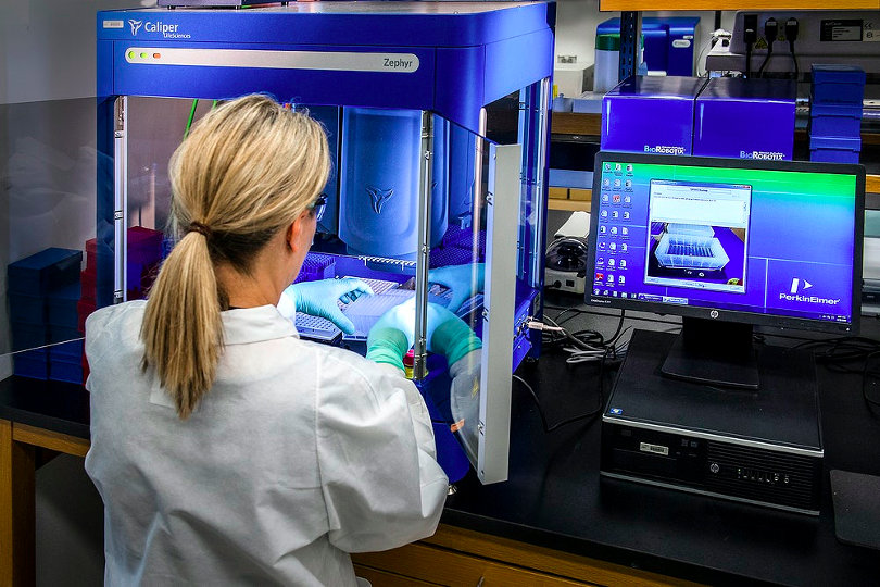 Real-time PCR device