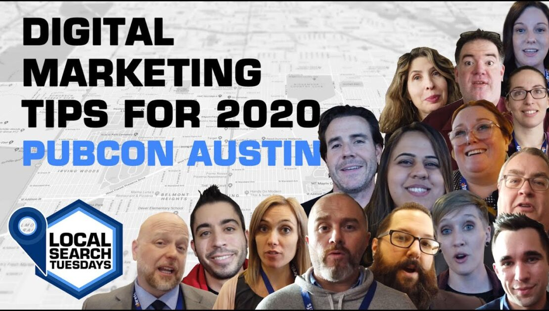 Digital Marketing Tips for 2020 - Pubcon Austin
