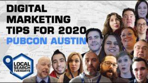 Digital Marketing Tips for 2020 - Pubcon Austin
