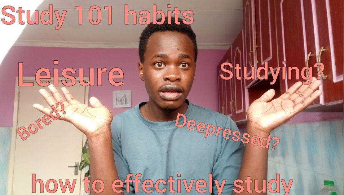 HOW to STUDY effectively.//tips on study 101.