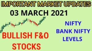 BANK NIFTY, NIFTY LEVELS, IMPORTANT MARKET UPDATES   Tamil Share   Stocks For Intraday Trading