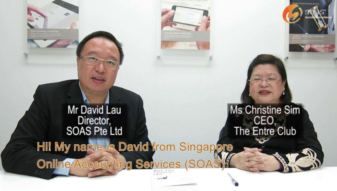 SOAS Entrepreneurship Series -  Ms Christine Sim. CEO, The Entre Club