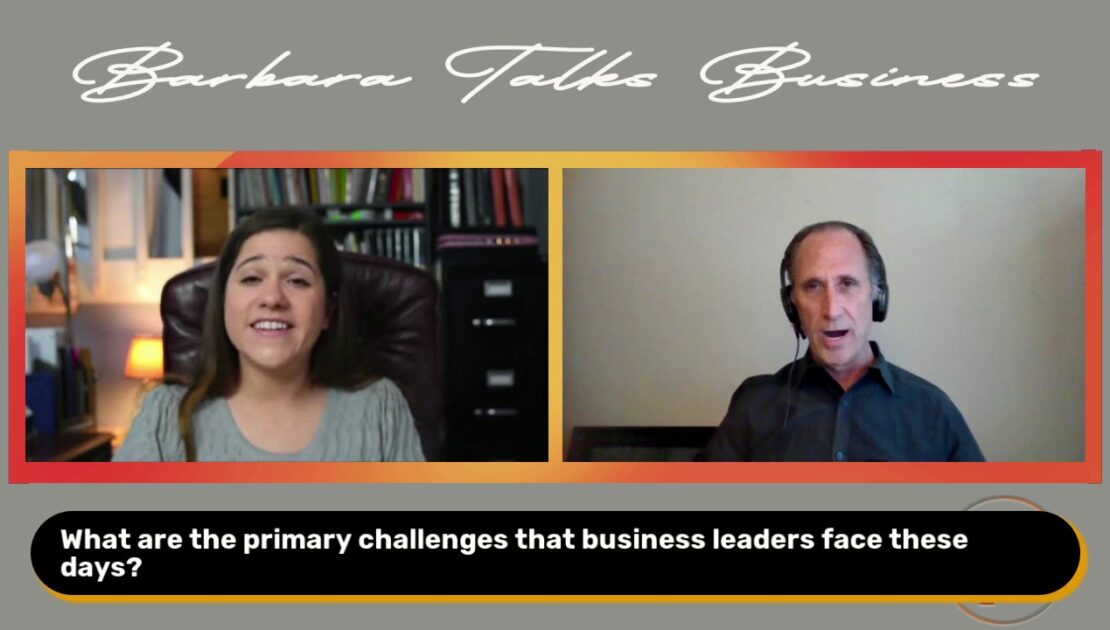 Chris Steely Discusses the Future of Productivity & Optimizing Performance | Barbara Talks Business