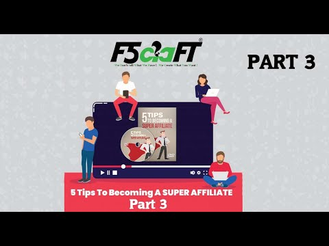 5 Tips To Becoming A Super Affiliate 3 | Digital Marketing | F5Craft - Web Development Company
