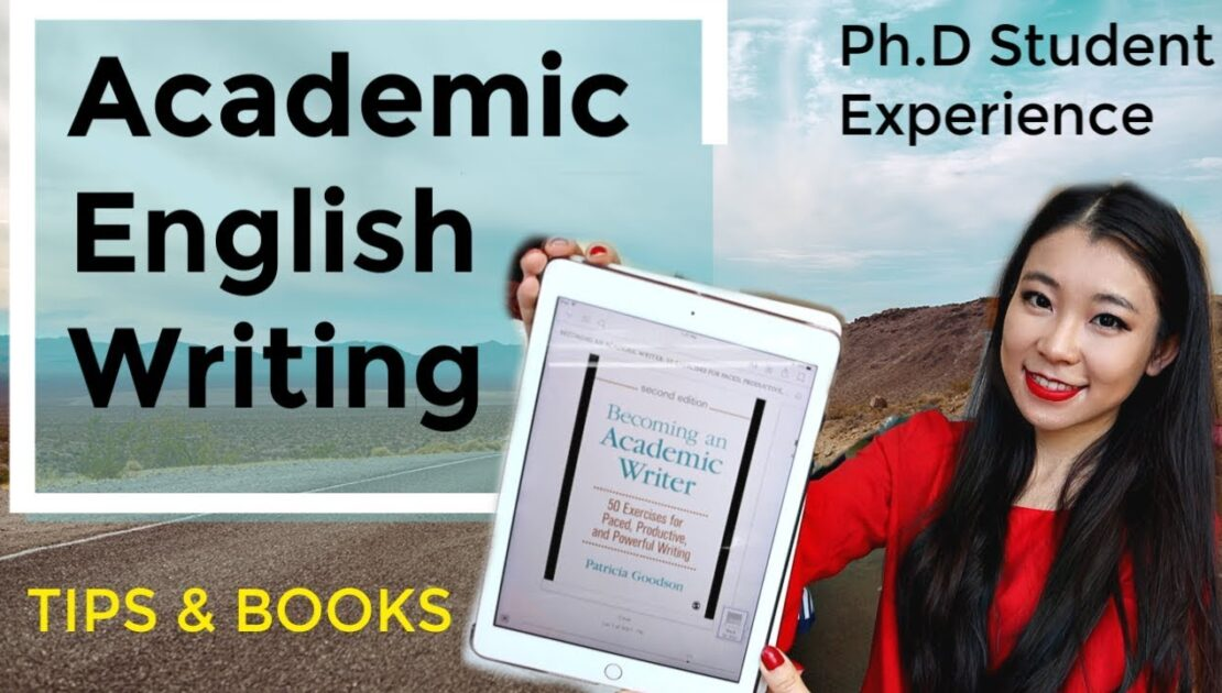 How to Improve Academic English Writing| Tips and Books Recommended by a Ph.D Student