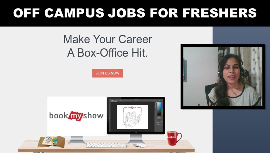 BookMyshow  hiring Freshers Graduates  MBA jobs Off campus freshers hiring 2021   Digital Marketing