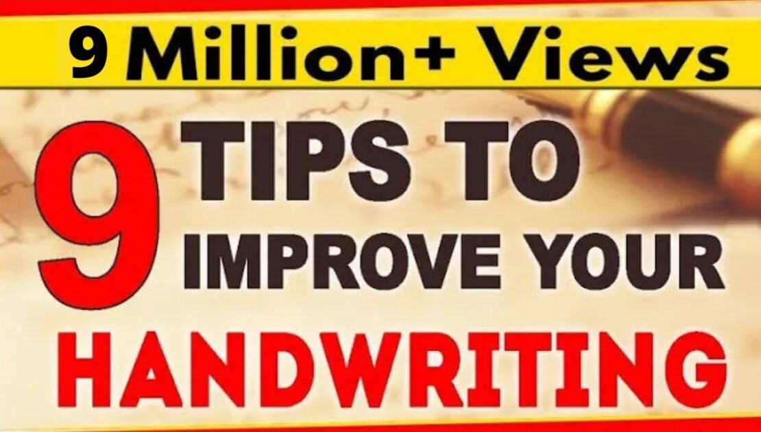 How To Improve your Handwriting? |  9 Tips for Nice Handwriting  | LetsTute