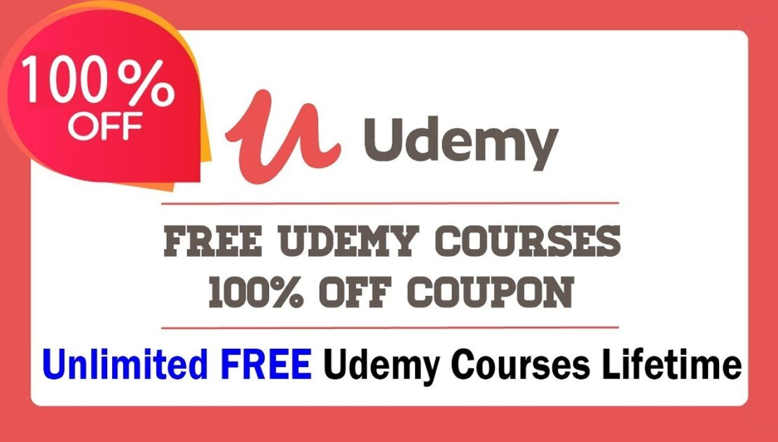 Udemy Free Online Courses with Certificate | Udemy Coupon Code 2021