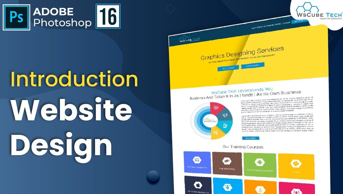 How to Start Website Design in Photoshop for Beginners Level (Introduction) - 1 | Intro & Setup - 16