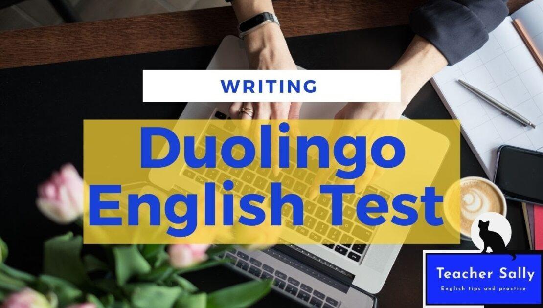 Duolingo English Test WRITING tips and practice