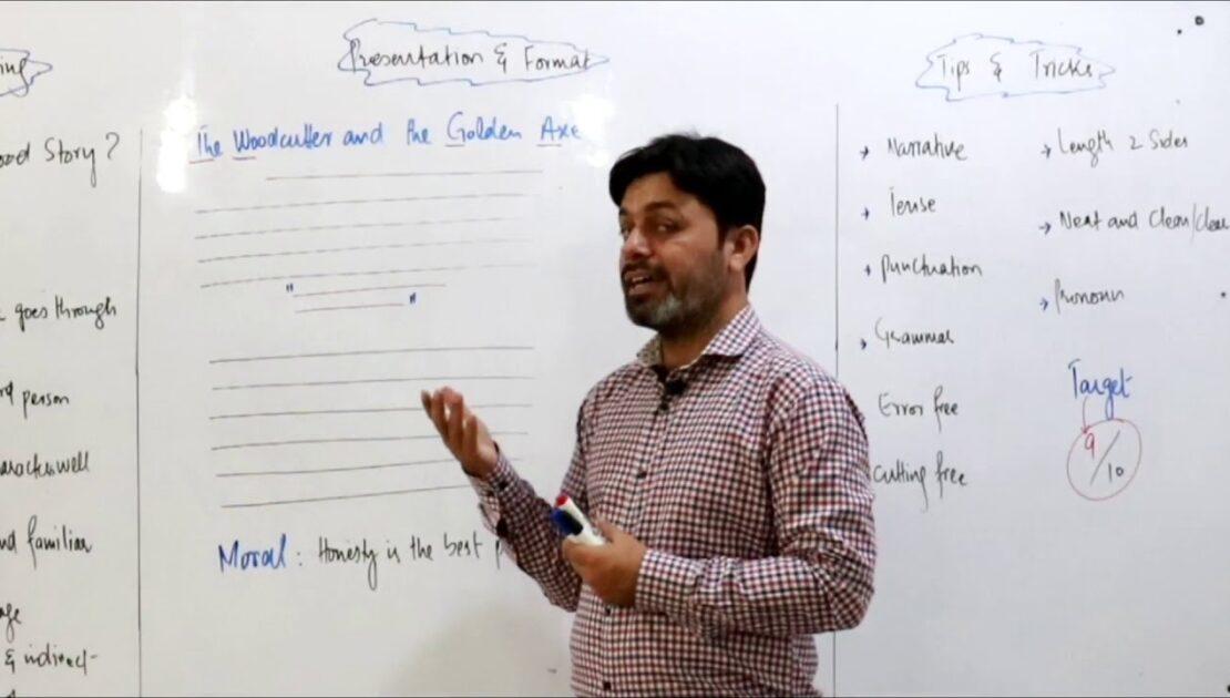 ENGLISH || Story Writing || PRESENTATION & FORMAT || TIPS & TRICKS
