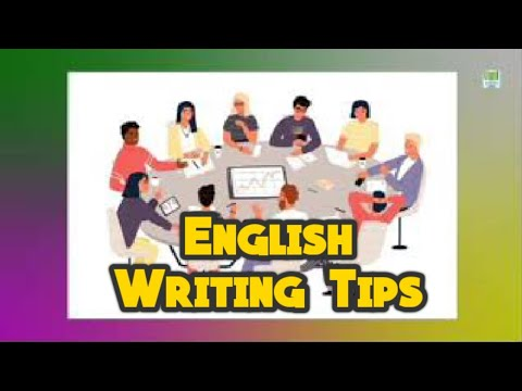 TEACHER BROADCASTER: SAMPLE  English Writing Tips