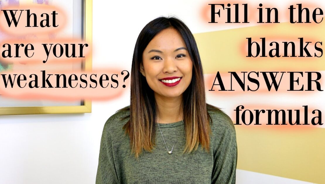 What are Your Weaknesses? - Sample Answer