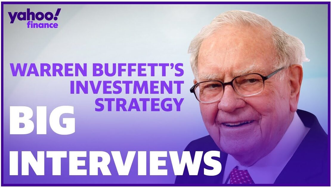 Warren Buffett reveals his investment strategy and mastering the market