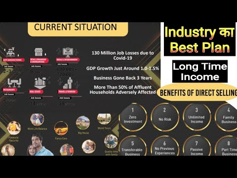 Industry || MLM || ka best plan Long Time Income, next Generation Transferable business. #motivation