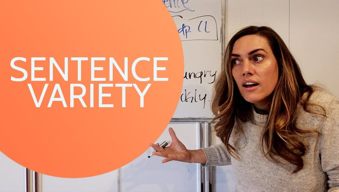 Sentence Variety - English Writing Tips | Sentence Variety Practice Online
