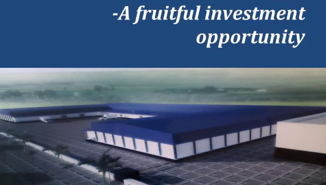 Cold Storage-  A fruitful investment opportunity