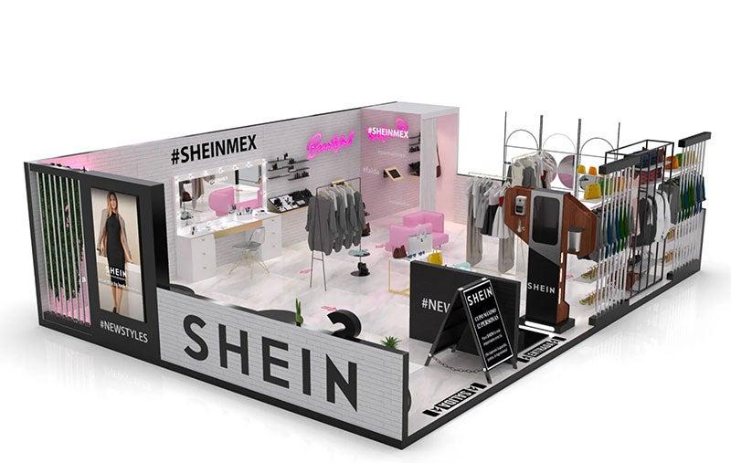 Shein opens a pop-up store in CDMX