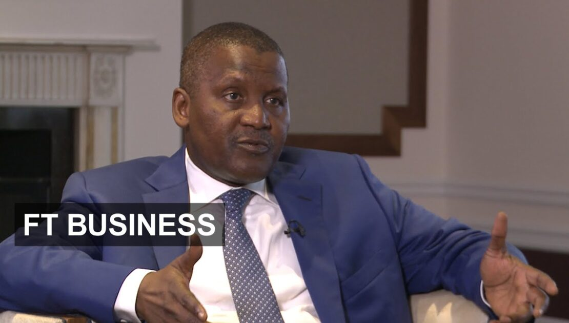 Dangote on investing in Africa   FT Business