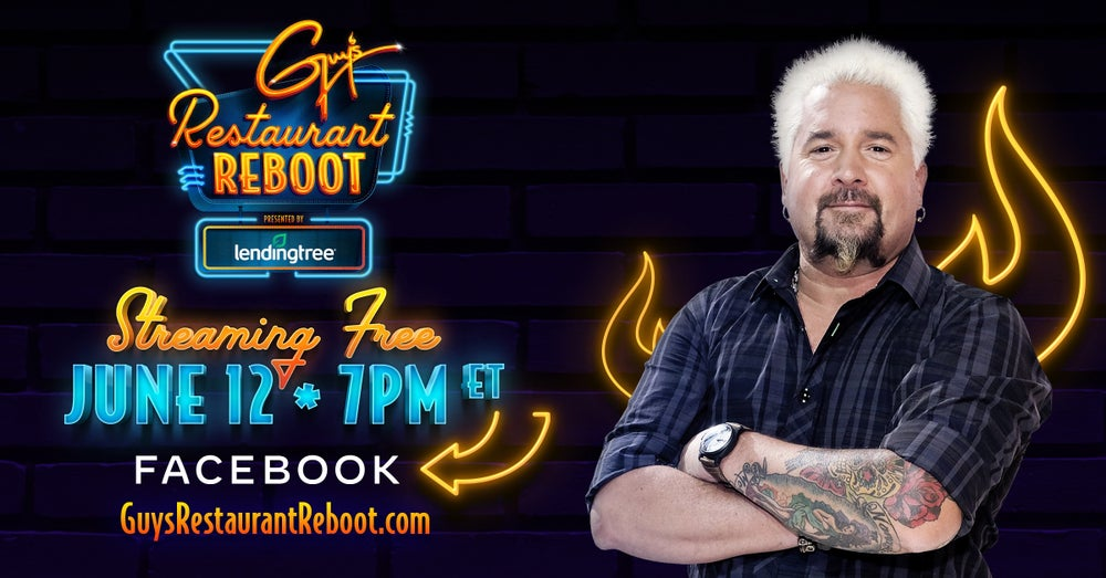 Guy Fieri, Cable's Highest-Paid Chef, Hopes to Save His Industry With 'Restaurant Reboot'