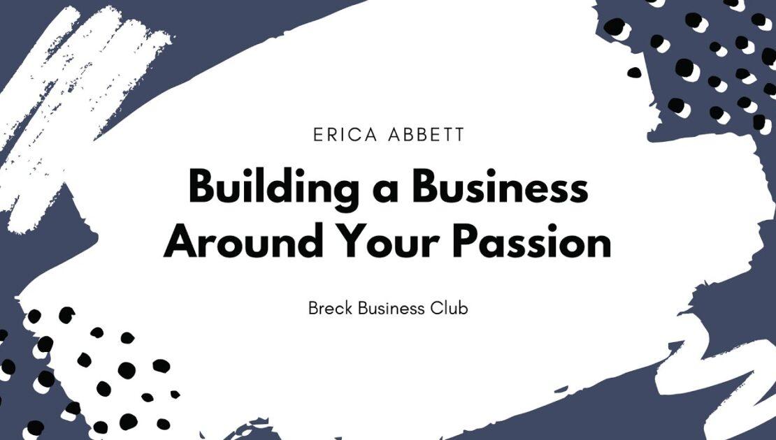 Breck Business Club - Vocabbett Entrepreneurship Speech