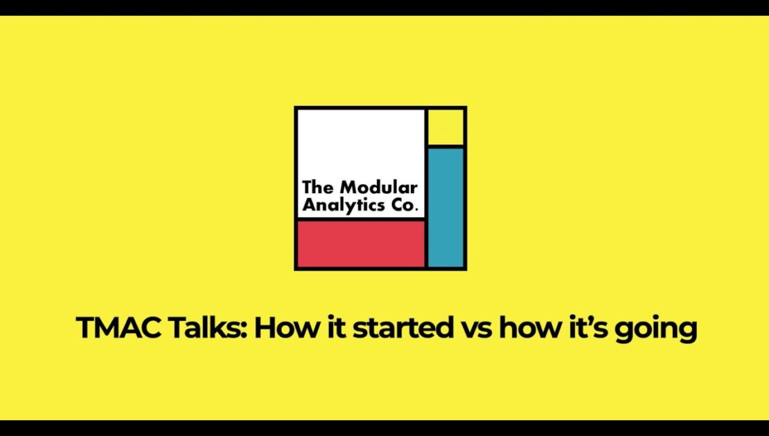 TMAC Talks: How it started vs How it's going