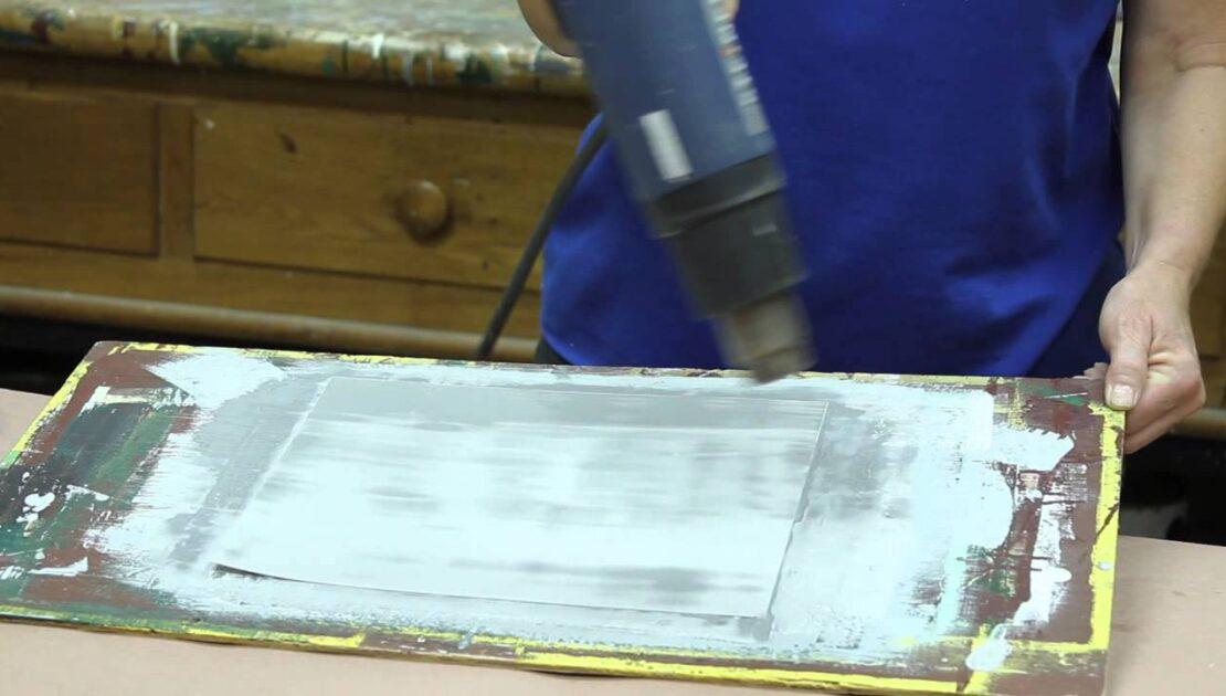 Preparing a Distemper Paint Test Sample