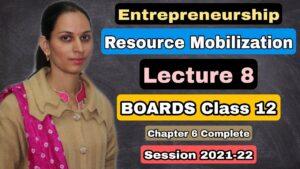 @8 Angel Investors   Resource Mobilization   Chapter 6   Entrepreneurship class 12