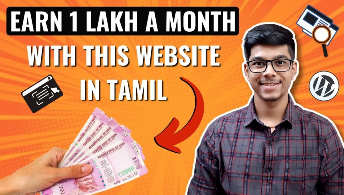 Earn 1 Lakh plus a Month with this WEBSITE | Earn Money Online | D Entrepreneur Tamil