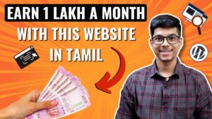 Earn 1 Lakh plus a Month with this WEBSITE   Earn Money Online   D Entrepreneur Tamil