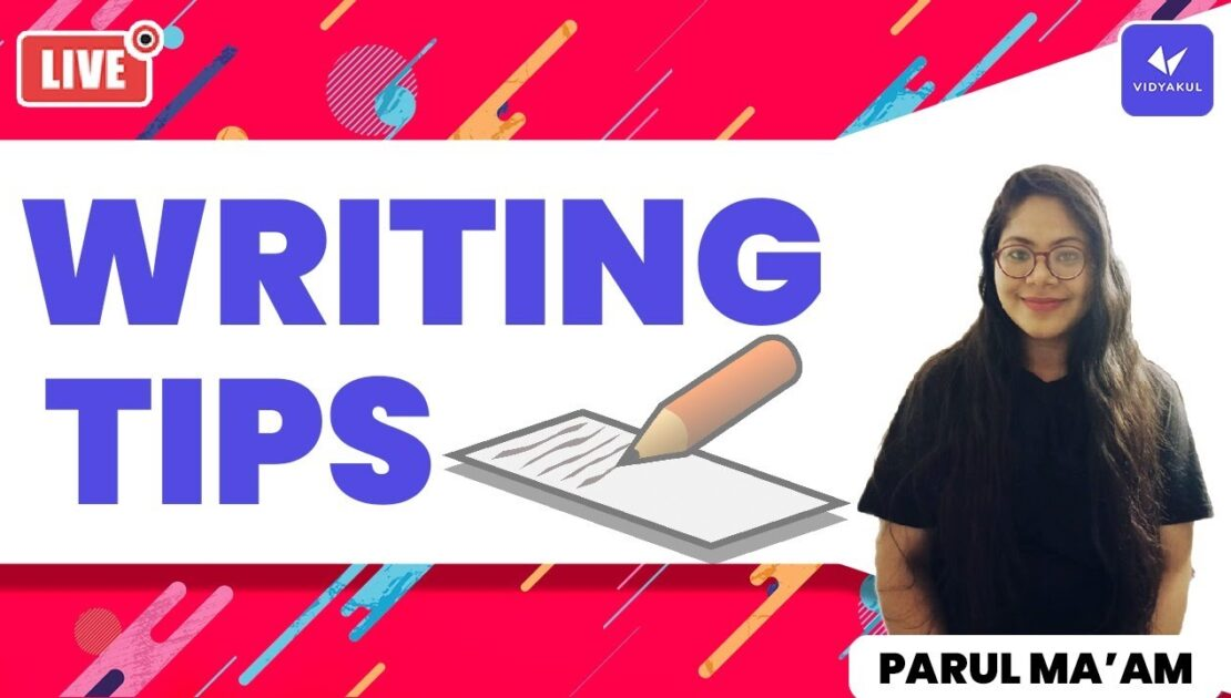 Writing tips in English | English Grammar | how to improve your writing skills | vidyakul | by parul