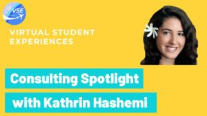 Virtual Student Experiences Consulting Spotlight - Kathrin Hashemi