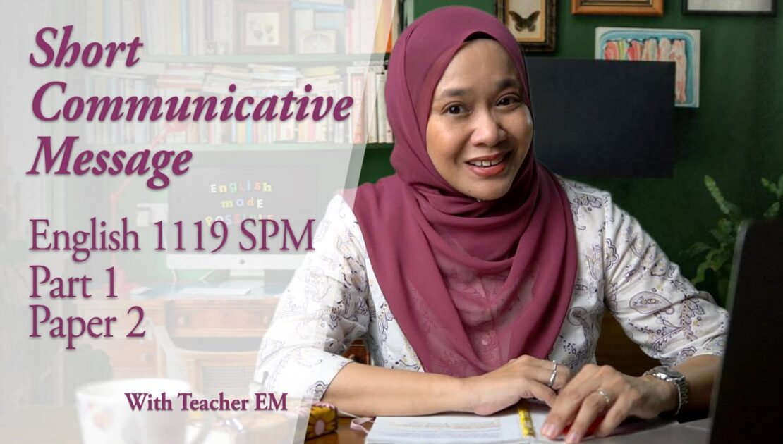 Tips for Email Writing - Short Communicative Message, English 1119 SPM
