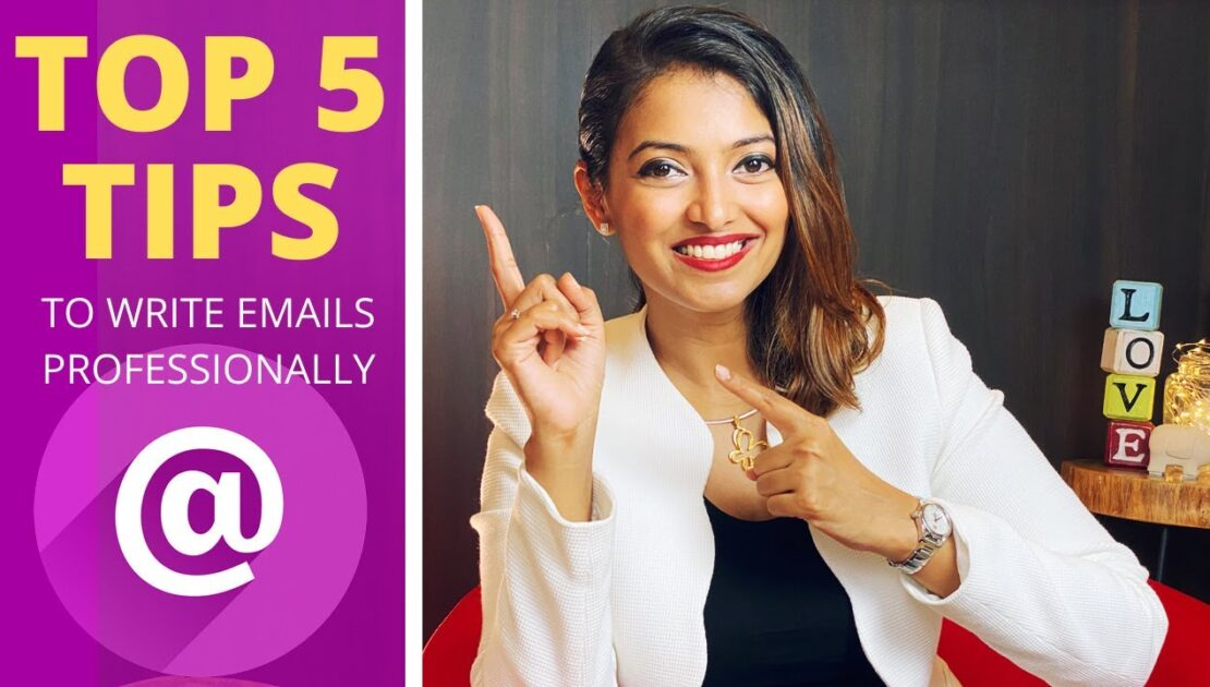 Writing Email   5 Tips on How to Write Professional Emails - English Version