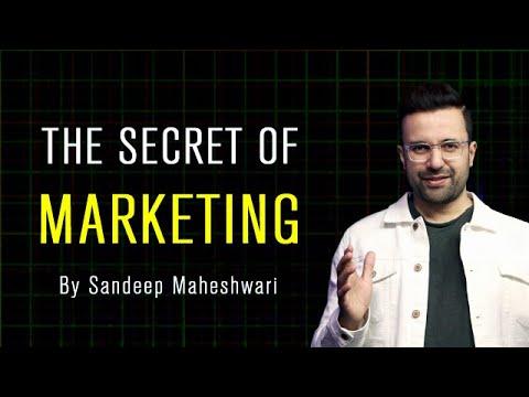 The Secret of Marketing - By Sandeep Maheshwari   Hindi & English