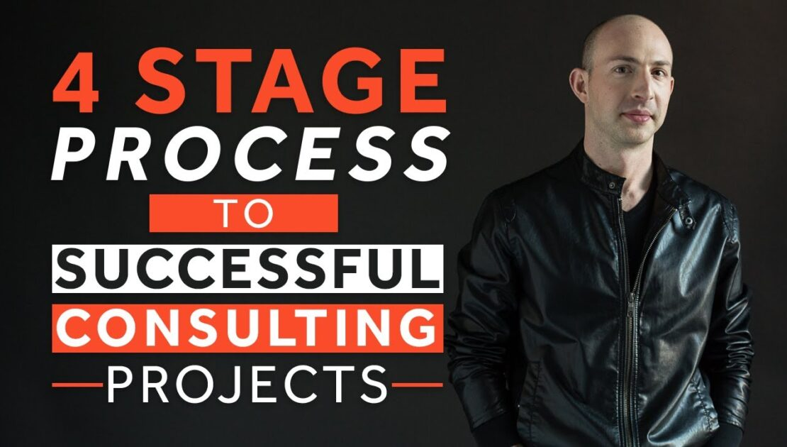 Proven 4 Stage Consulting Project Process
