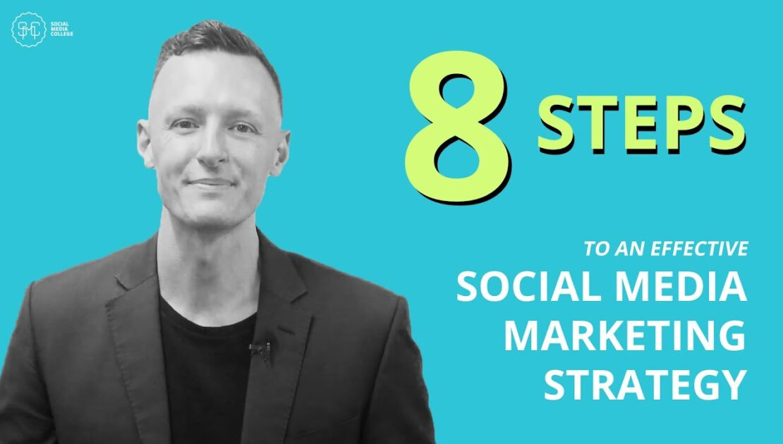 8 Steps To An Effective Social Media Marketing Strategy In 2021!