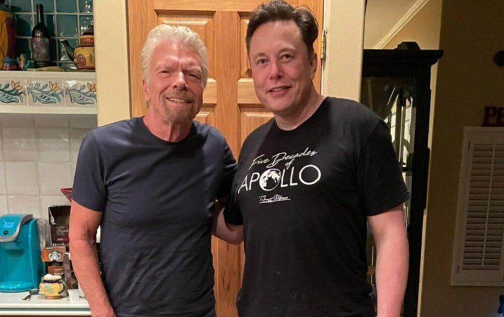 Elon Musk will also go into space aboard Virgin Galactic, the Richard Branson company