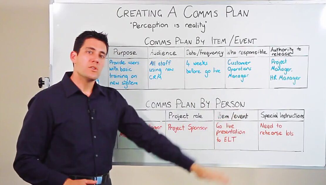 Project Management: Creating a Communications Plan