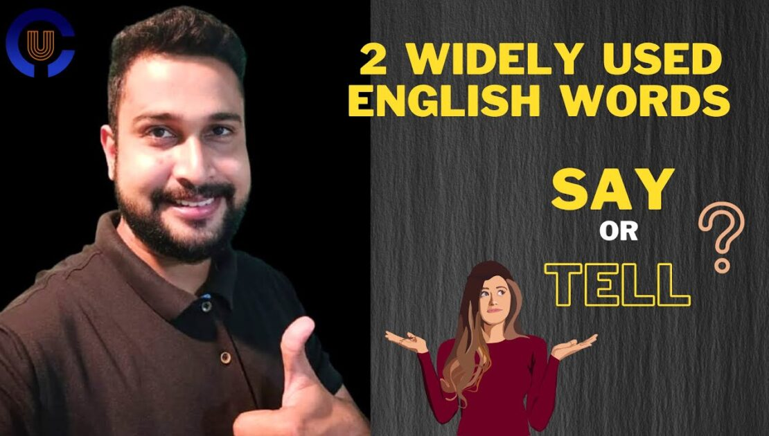 Say or Tell difference in English Language | English Grammar Tips & Tricks | Competitive Cracker