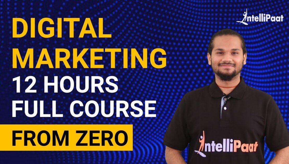 Digital Marketing Course   Digital Marketing Tutorial for Beginners   Intellipaat