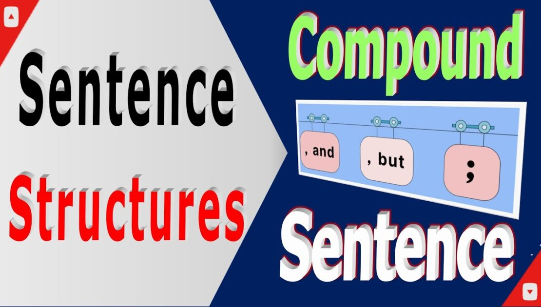 The 4 English Sentence Types – simple, compound construction