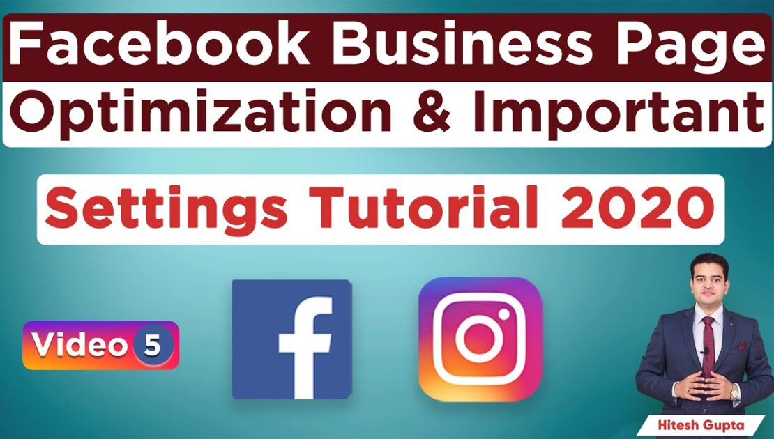 Facebook Business Page Optimization and Important Settings Tutorial Hindi   Organic & Free Tips 2020