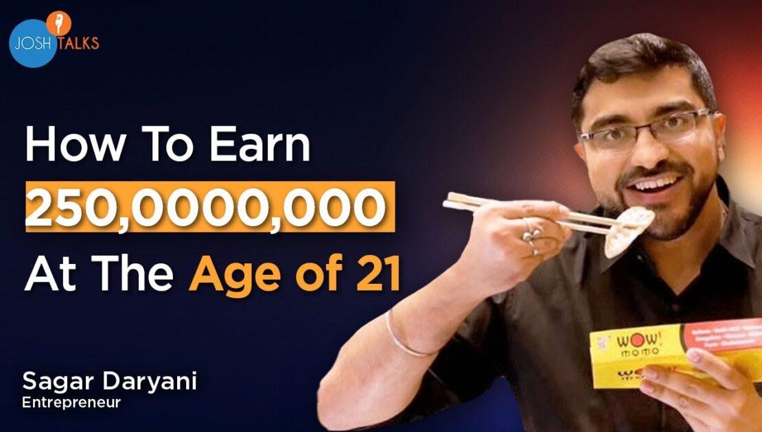 How This Momos Wala Made A 250 Crore Business | Wow Momo Story | Sagar Daryani | Josh Talks