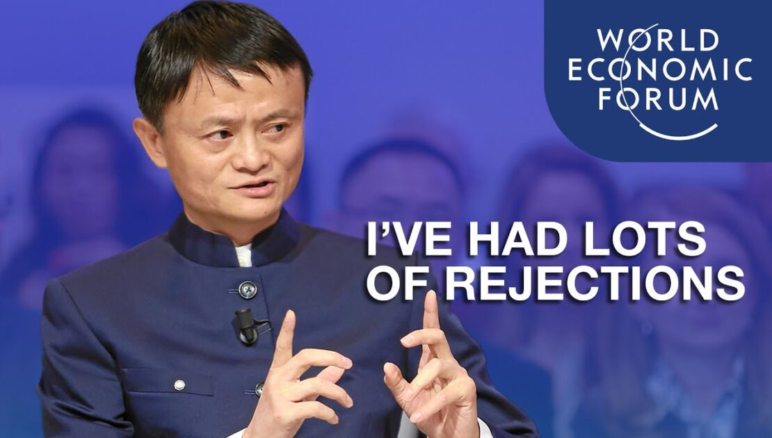 Jack Ma: I've Had Lots Of Failures And Rejections | Davos 2015