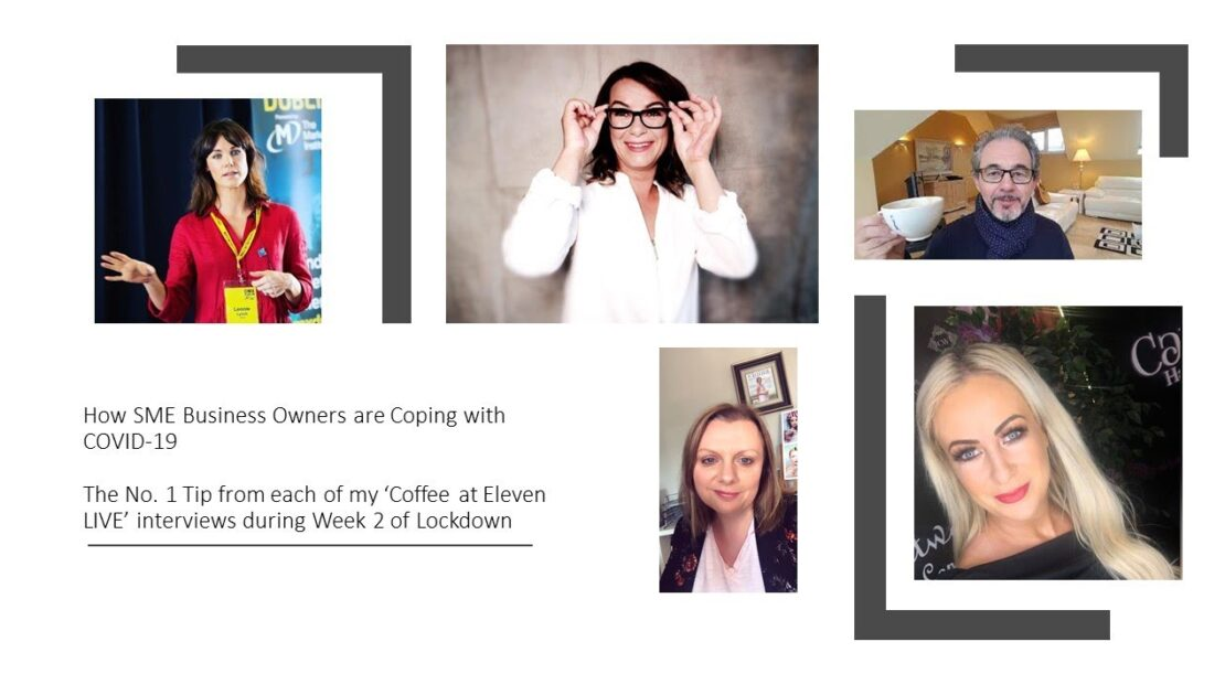 COVID Coping Tips (Lockdown Week 2) - More SME Business Owners tell Yours Truly how they are coping.