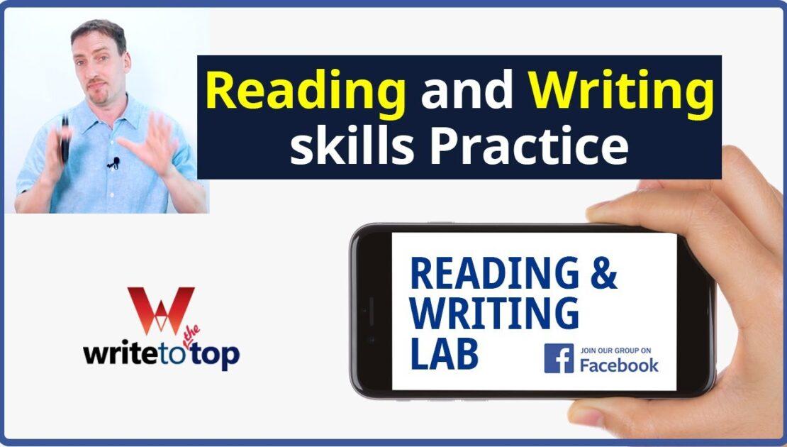 Improve English Reading and Writing Skills