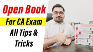 Open Book For CA Exam All Tips &Tricks | Use Of Standards : Professional's Legacy