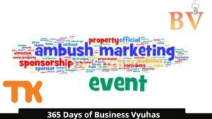 Day 62   Ambush Marketing in English  365 Days of Business Vyuhas by Tamizha Karthic